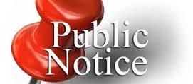 Public Notice 1